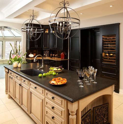 Bordeaux Granite Kitchen Countertops