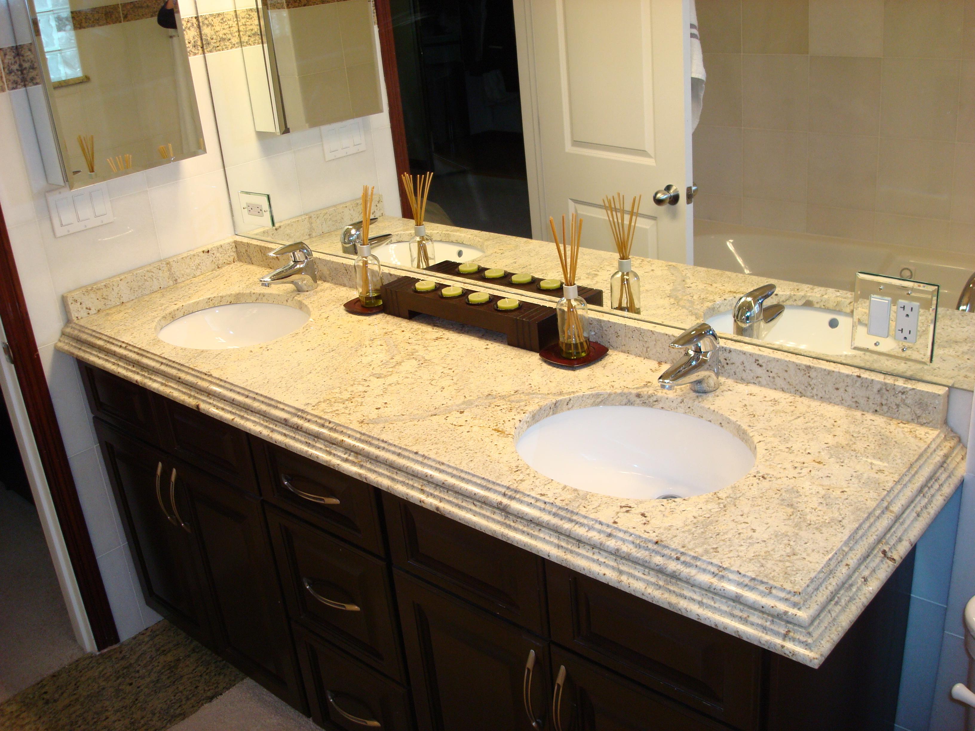 Faux Marble Vanity Tops