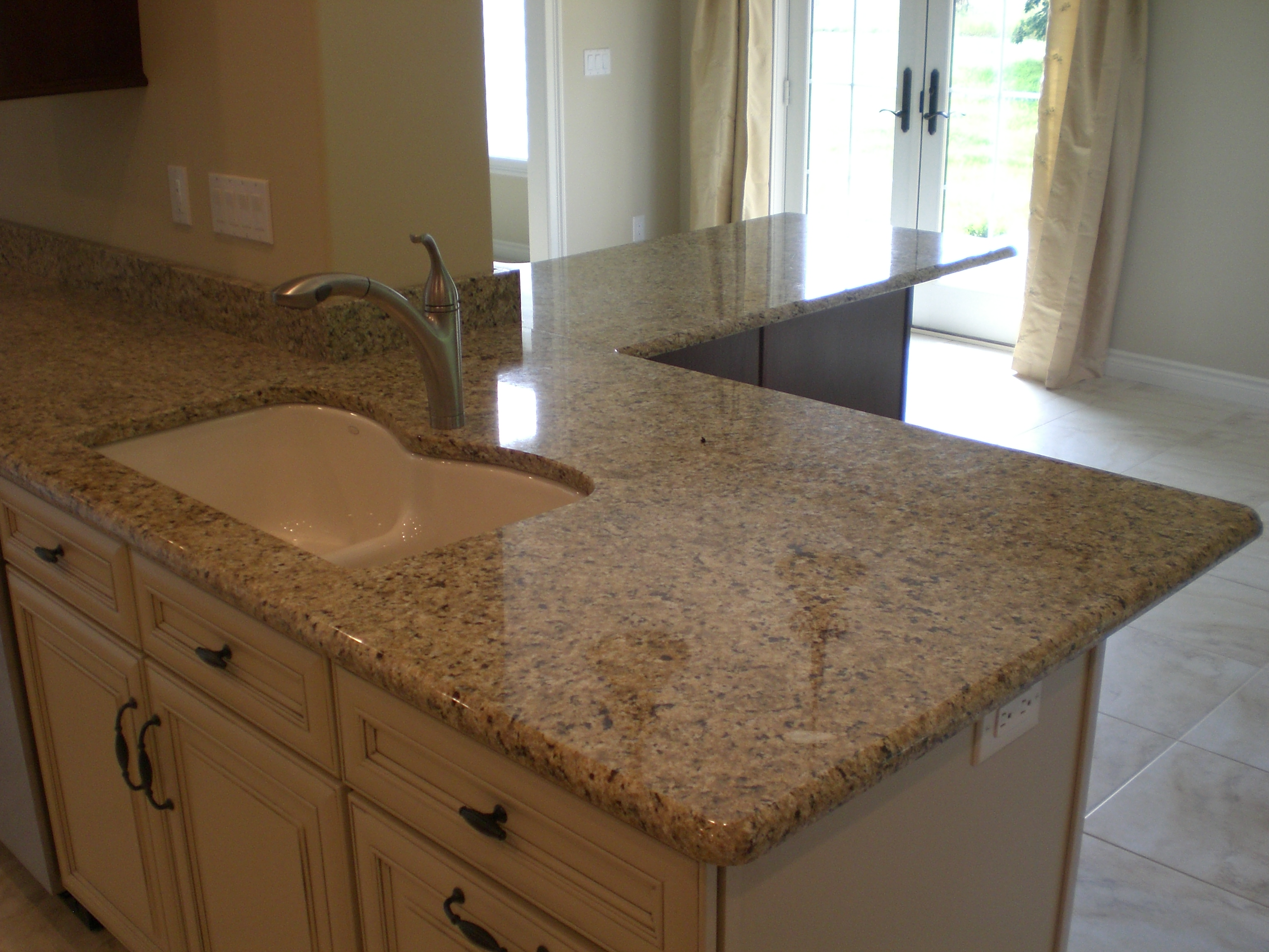 Venetian Gold Granite Kitchen White Kitchen Cabinets With New Venetian Gold