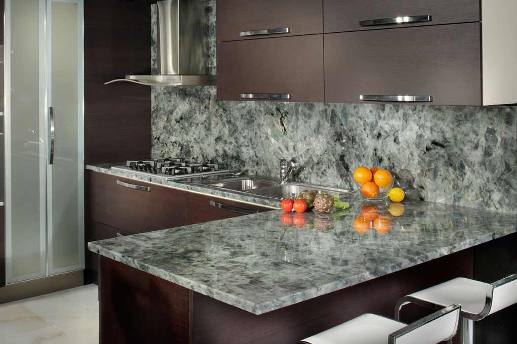 Emerald pearl granite kitchen countertops green granite kitchen as - Granite Kitchen Countertops Inspiration Gallery