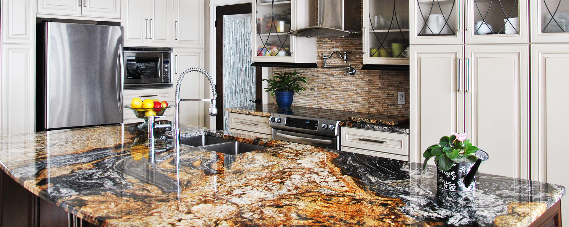 Emerald Pearl Granite Kitchen Granite Kitchen Countertops Inspiration Gallery