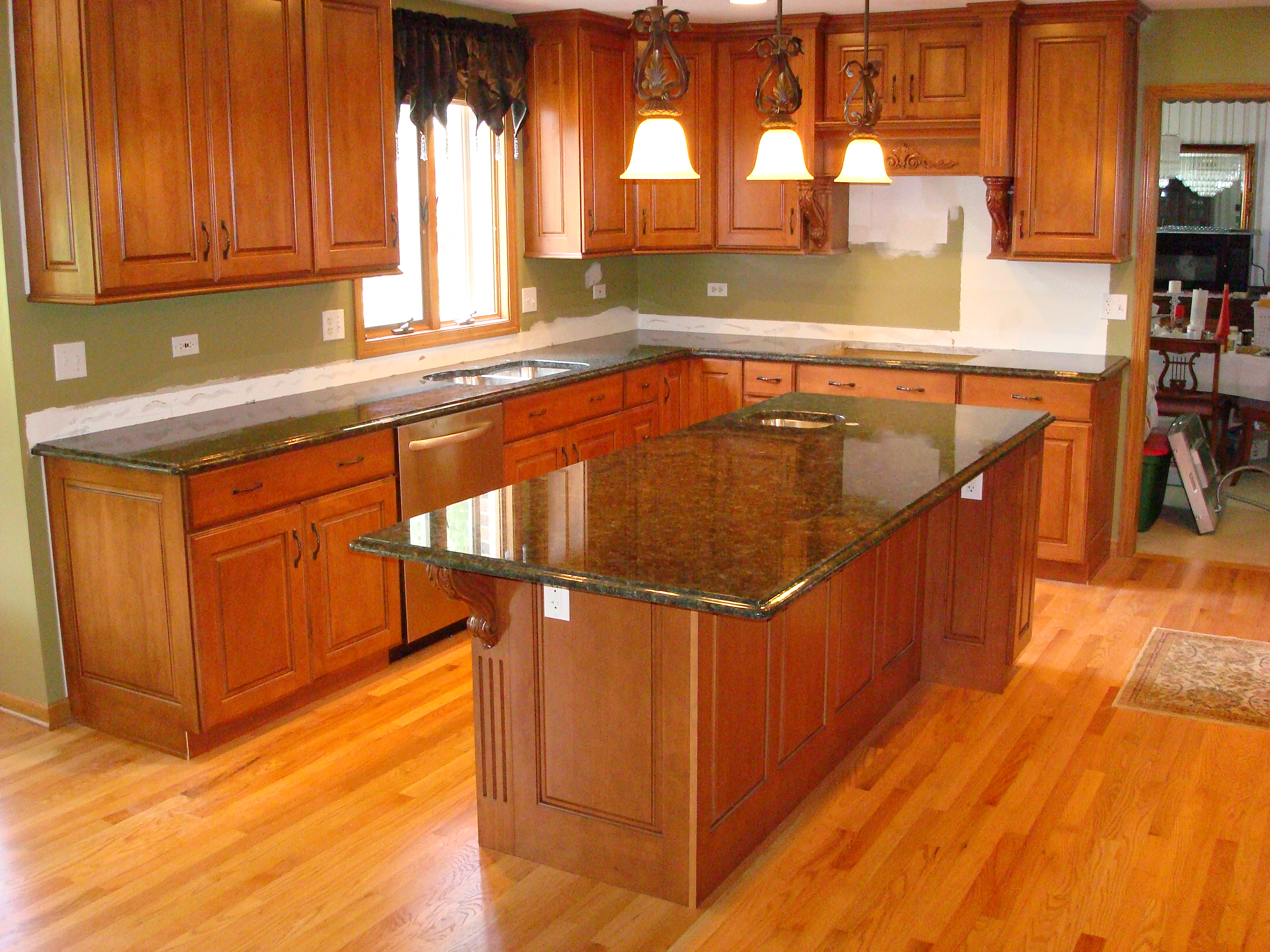 Custom Design Kitchen Islands Page Title
